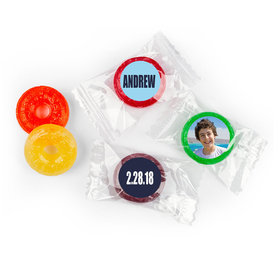 Bar Mitzvah Personalized Boldly Blue LifeSavers 5 Flavor Hard Candy (300 Pack)