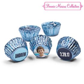 Bar Mitzvah Personalized Boldly Blue Reese's (50 Pack)
