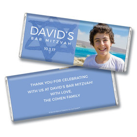 Bar Mitzvah Personalized Chocolate Bar Big Day