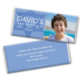 Bar Mitzvah Big Day Personalized Hershey's Chocolate Bar Wrappers
