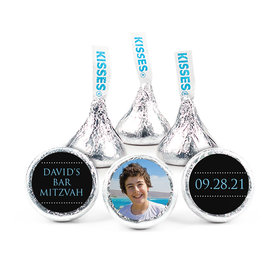 """Bonnie Marcus Bar Mitzvah Personalized Classic 3/4"""" Stickers (108 Stickers)"""