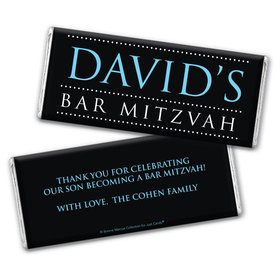 Personalized Bar Mitzvah Classic Chocolate Bars