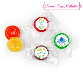 Safari Snuggles Personalized Baby Shower LifeSavers 5 Flavor Hard Candy Assembled