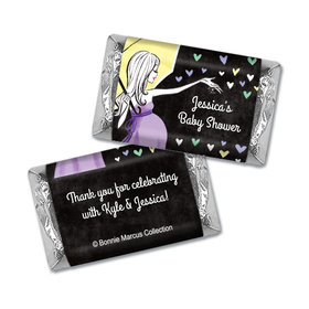Sprinkling Pink Personalized Miniature Wrappers
