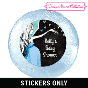 "Sprinkling Pink 1.25"" Sticker (48 Stickers)"