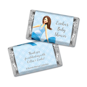 Baby Bow Personalized Miniature Wrappers