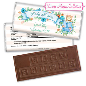 Story Time Personalized Embossed Chocolate Bar Assembled