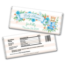 Story Time Personalized Candy Bar - Wrapper Only