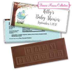 Rockabye Baby Personalized Embossed Chocolate Bar Assembled