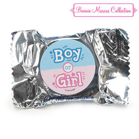 Personalized Bonnie Marcus Boy or Girl Gender Reveal York Peppermint Patties