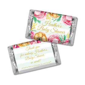 Personalized Mini Wrappers Only - Bonnie Marcus Baby Shower Stripes