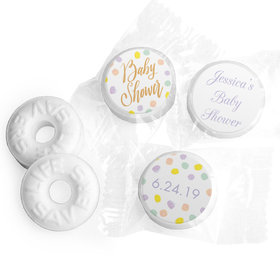 Personalized Bonnie Marcus Baby Shower Confetti Fun Life Savers Mints