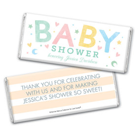Personalized Bonnie Marcus Baby Shower Sweet Baby Chocolate Bar