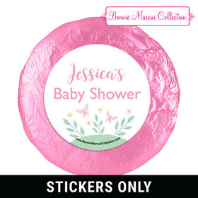 Personalized Bonnie Marcus Baby Shower 1.25in Stickers (48 Stickers)