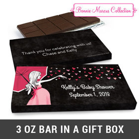 Deluxe Personalized Sprinkling Chocolate Bar in Gift Box (3oz Bar)
