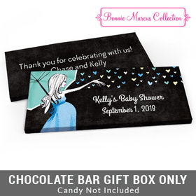 Deluxe Personalized Sprinkle Baby Shower Candy Bar Favor Box