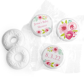 Personalized Bonnie Marcus Baby Shower Honey Wreath Life Savers Mints