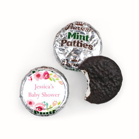 Personalized Bonnie Marcus Honey Wreath Baby Shower Pearson's Mint Patties