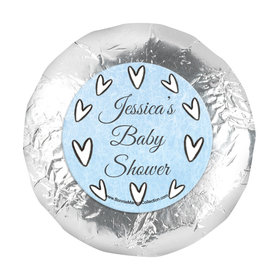 Personalized Bonnie Marcus Icons Baby Shower 1.25in Stickers (48 Stickers)