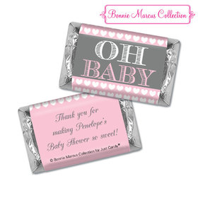 Personalized Bonnie Marcus Oh Baby Shower Hershey's Miniatures