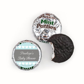 Personalized Bonnie Marcus Oh Baby Baby Shower Pearson's Mint Patties