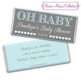 Personalized Bonnie Marcus Baby Shower Oh Baby Chocolate Bar
