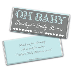 Personalized Bonnie Marcus Baby Shower Oh Baby Chocolate bar Wrappers