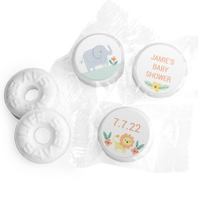 Personalized Bonnie Marcus Baby Shower Safari Fun Life Savers Mints