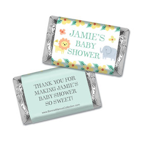 Personalized Bonnie Marcus Safari Fun Baby Shower Mini Wrappers
