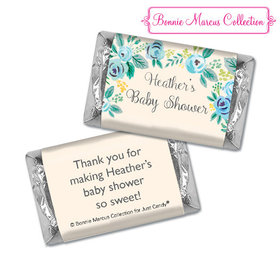Personalized Bonnie Marcus Blooming Baby Baby Shower Hershey's Miniatures
