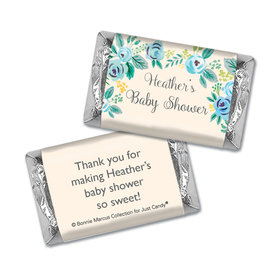 Personalized Bonnie Marcus Blooming Baby Baby Shower Mini Wrappers
