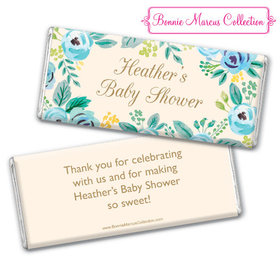 Personalized Bonnie Marcus Baby Shower Blooming Baby Chocolate Bar