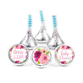 Personalized Bonnie Marcus Baby Shower Painted Petals Hershey's Kisses (50 pack)