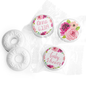Personalized Hershey's Kisses - Bonnie Marcus Baby Shower Painted Petals (50 Pack)