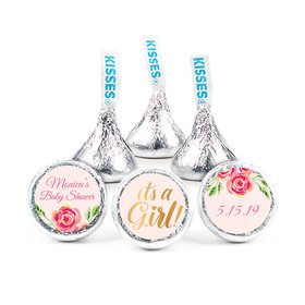 """Personalized 3/4"""" Stickers - Bonnie Marcus Baby Shower Spring Baby (108 Stickers)"""