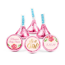 Personalized Bonnie Marcus Baby Shower Spring Baby Hershey's Kisses (50 pack)