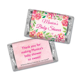 Personalized Bonnie Marcus Baby Shower Spring Baby Hershey's Miniatures Wrappers