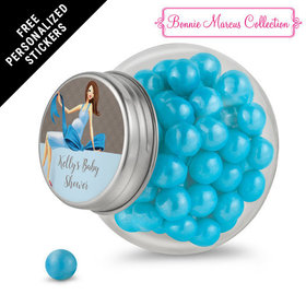 Bonnie Marcus Collection Personalized Mini Side Jar - Baby Bow (24 Pack)