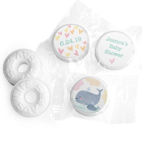 Personalized Hershey's Kisses - Bonnie Marcus Baby Shower Baby Whale (50 Pack)