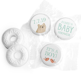 Personalized Hershey's Kisses - Bonnie Marcus Baby Shower Baby Bear (50 Pack)