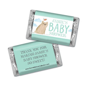 Personalized Bonnie Marcus Baby Shower Baby Bear Hershey's Miniatures