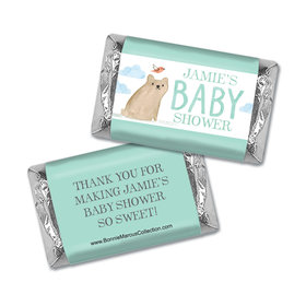 Personalized Bonnie Marcus Baby Shower Baby Bear Hershey's Miniatures Wrappers