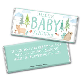 Personalized Bonnie Marcus Baby Shower Baby Bear Chocolate Bar