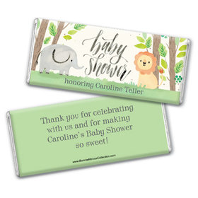 Personalized Bonnie Marcus Baby Shower Sarafi Nursery Chocolate Bar