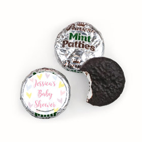 Personalized Bonnie Marcus Pastel Baby Shower Pearson's Mint Patties