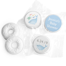Personalized Bonnie Marcus Baby Shower Under the Sea Life Savers Mints