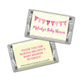 Personalized Bonnie Marcus Baby Shower Mini Wrappers