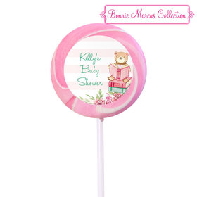 Bonnie Marcus Collection Personalized Small Swirly Pop - Favors Story Time (24 Pack)
