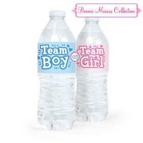 Baby Shower Gender Reveal Boy or Girl Water Bottle Sticker Labels (5 Labels)