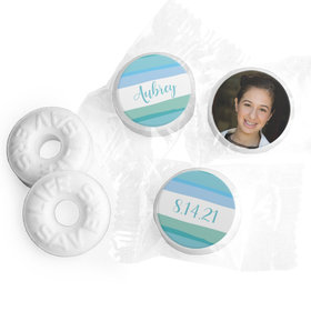 Personalized Bonnie Marcus Bat Mitzvah Watercolor Blessing Life Savers Mints